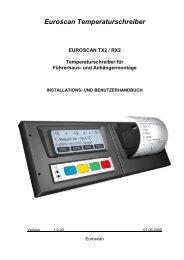 Euroscan Temperaturschreiber - Kiesling