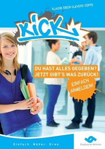 Du hast allEs gEgEbEn? jEtzt gIbt's was zuRüCK! - Kick-muenster.de