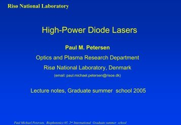 g - Center for Biomedical Optics and New Laser Systems