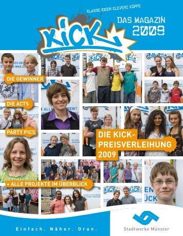 die KiCK- Preisverleihung 2009 - Kick-muenster.de