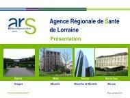 Présentation - ARS Lorraine