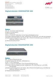 Video_files/Digimaster 200 und 300.pdf - ESAG