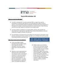rectal microbicides 101 - IRMA