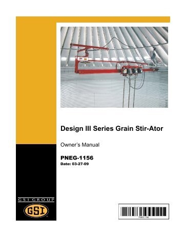grain stir-ator - david manufacturing co. sukup burner wiring diagram board