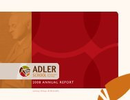 2008 annual report - Adler School of Professional Psychology