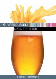 SIZED FOR BEER - VisitBrussels