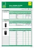 Neue MANN-FILTER für Landmaschinen (PDF ... - Mann & Hummel - Page 3