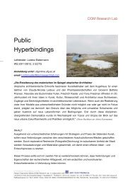Public Hyperbindings - DOM Research Laboratory
