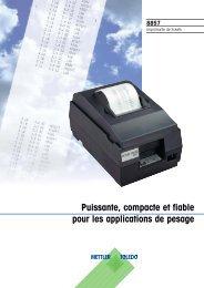 Puissante, compacte et fiable pour les applications de pesage
