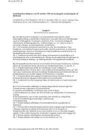Landstingsforordning nr. 6 af 30. oktober 1992 om ... - Byginfo