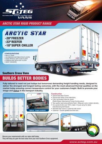 Arctic Star rigid body - Southern Cross Transport Equipment Group