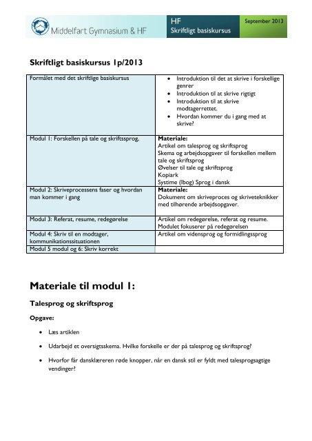 forskel på referat og resume