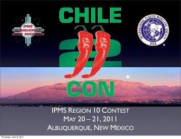 Contest Results Presentation at Awards Banquet - Albuquerque ...