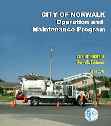 Operation and Maintenance Program - City of Norwalk