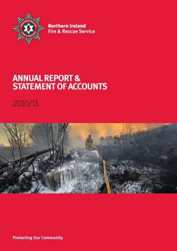 annual report & statement of accounts 2010/11 - Northern Ireland ...