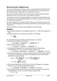 Berechnung der Zeitgleichung - schule.at