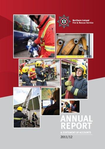 ANNUAL REPORT - Northern Ireland Fire & Rescue Service