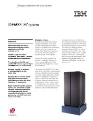 RS/6000 SP system