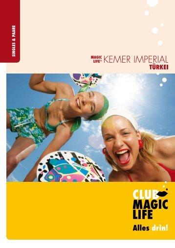 SINGLES & P AARE - Club Magic Life