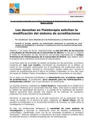 Descarga la nota de prensa en pdf - Colegio Profesional de ...