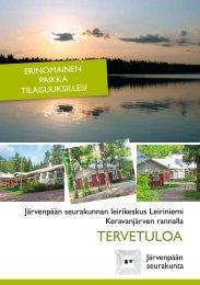 Leiriniemen esite - Järvenpään seurakunta