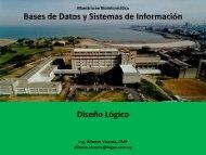 Bases de Datos y Sistemas de Información Diseño Lógico - Pedeciba