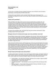 Polisi pendidikan anak - Insurance Info
