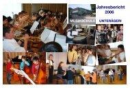 Jahresbericht 2006 - Musikschule Unterägeri