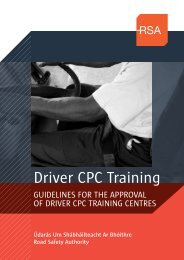 Driver CPC Training - Road Safety Authority