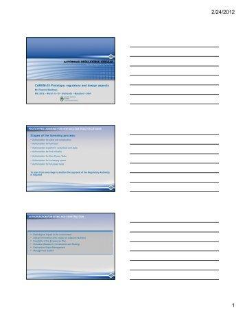 CAREM-25 Prototype, Regulatory and Design Aspects.pdf - UxC