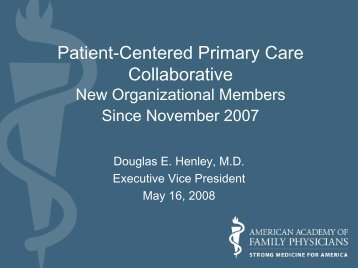 Patient-Centered Primary Care Collaborative - About Medical Home ...