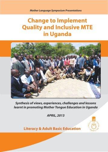 Mother Language Symposium Presentations - LITERACY AND ...
