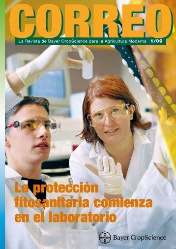 La protección fitosanitaria comienza en el laboratorio