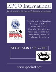 APCO ANS 1.101.2-2010 - National Center for Missing and ...