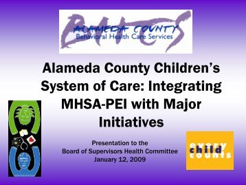 Please click here to view the presentation - Alameda County ...