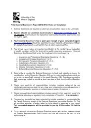 EE3 Field Externals Reporting Template 2012-13 - University of the ...