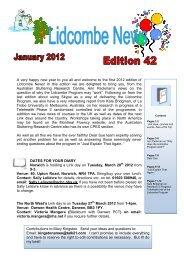 Lidcombe News Edition 42nd - Montreal Fluency