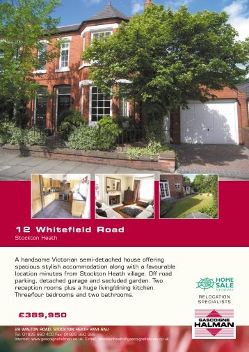 12 Whitefield Road