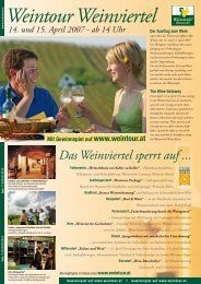 Download Weintour Folder 2007 (PDF) - Weingut Hofbauer Schmidt