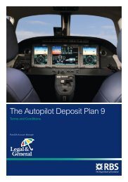 The Autopilot Deposit Plan 9 – Terms and Conditions - Adviserzone
