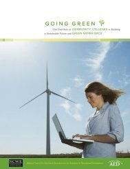 GOING GREEN - BCC Staff Web Server