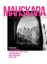 Läs senaste numret av, Mahskara No77