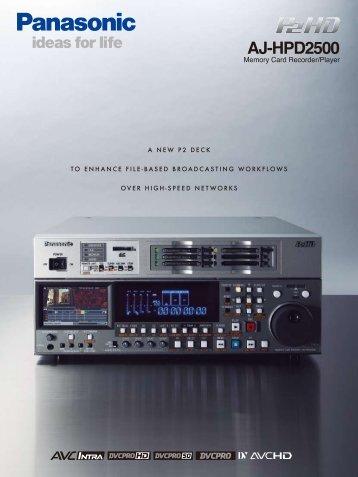 AJ-HPD2500 - Atreid