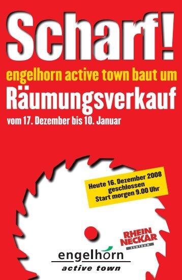 vom 17. Dezember bis 10. Januar - Engelhorn