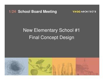 New Elementary School #1 Final Concept Design - Arlington Public ...