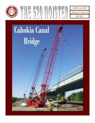Volume 4 Issue 2 - Operating Engineers Local 520