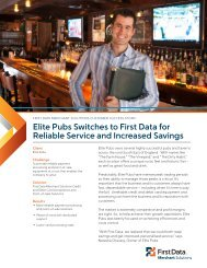 Elite Pubs Case Study Download PDF - 956 KB - First Data