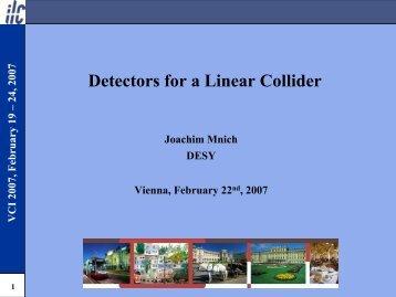 Detectors for a Linear Collider - eudet