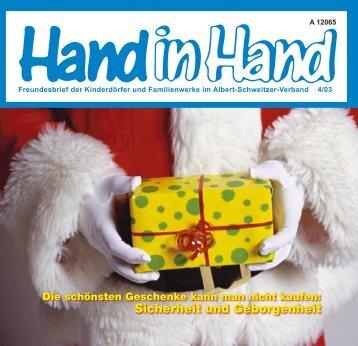 Hand in Hand4-20035.indd - Albert-Schweitzer-Verband