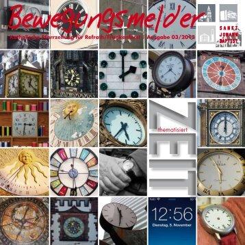 """""""Bewegungsmelder"""" Ausgabe 3/2013 - Kirchen-in-refrath.de"""